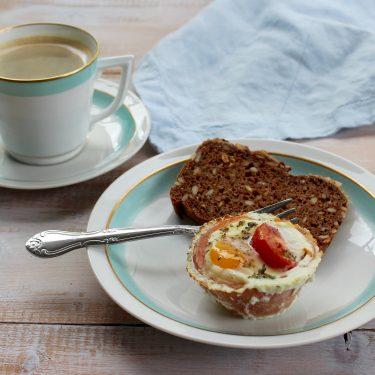 Morgenmadsmuffins