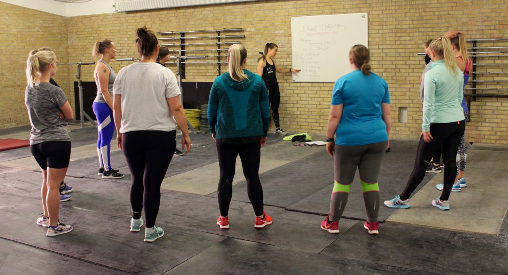 UP Bootcamp styrketræning for kvinder
