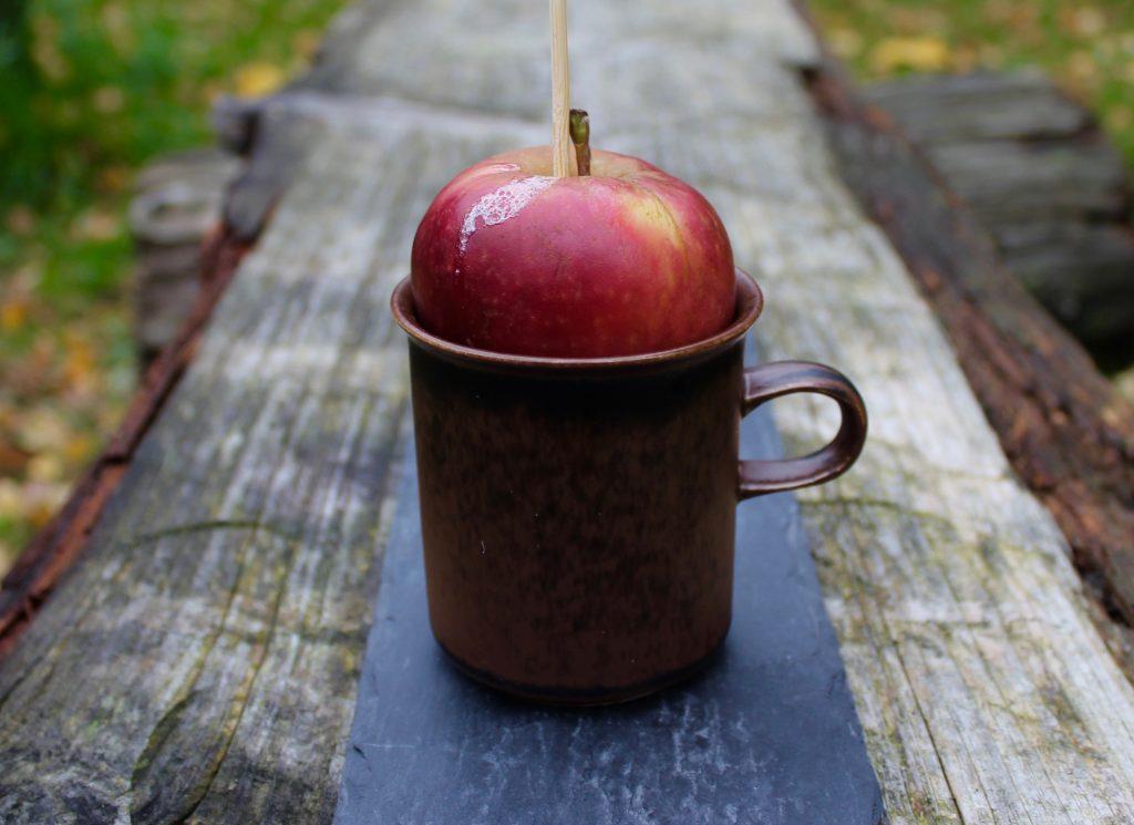 Bagt æble