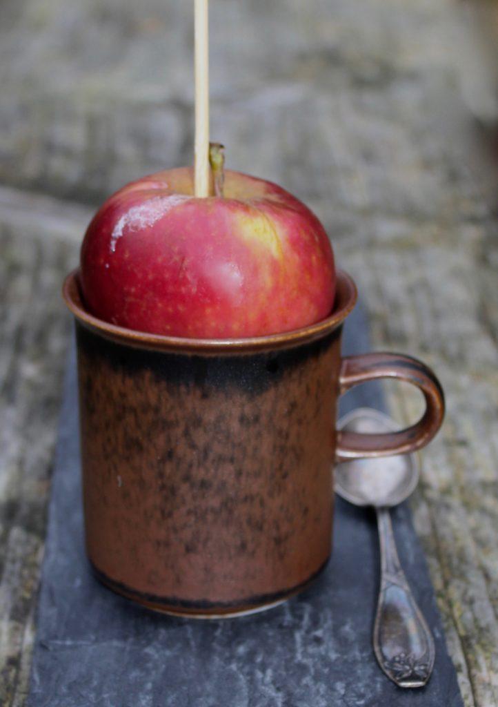 Bagt æblegrød