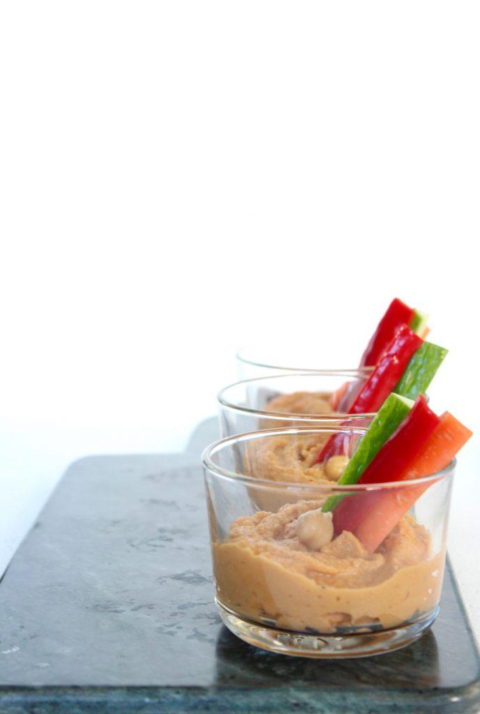 Hummus med sambal olek