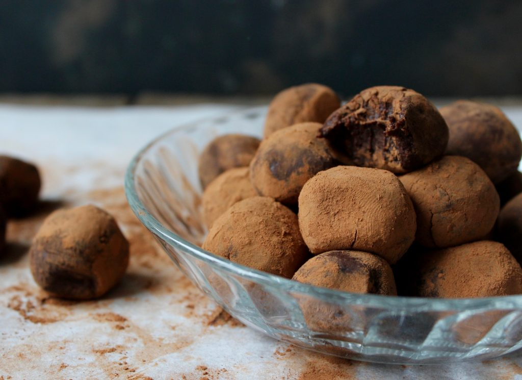 Protein chokoladetrøfler