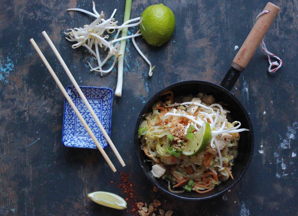 Grøntsags-Pad-Thai