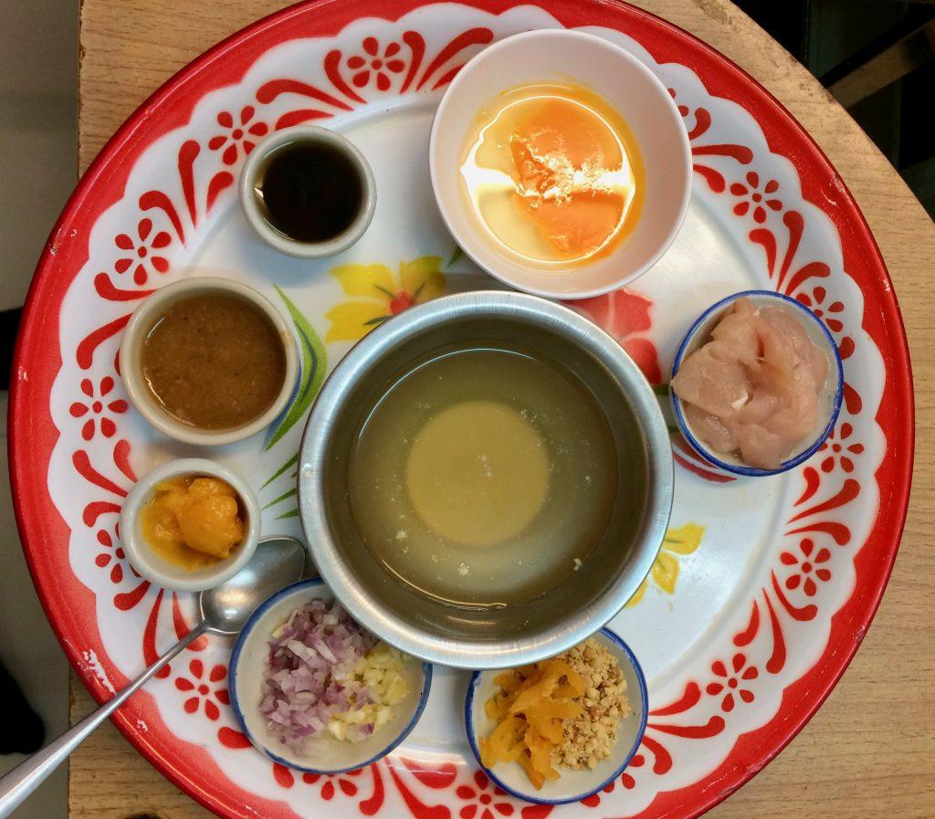 Pad Thai ingredienser