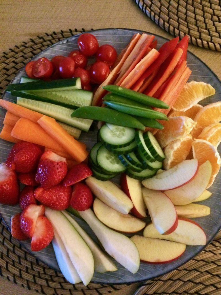 Grøntsager tjek ind