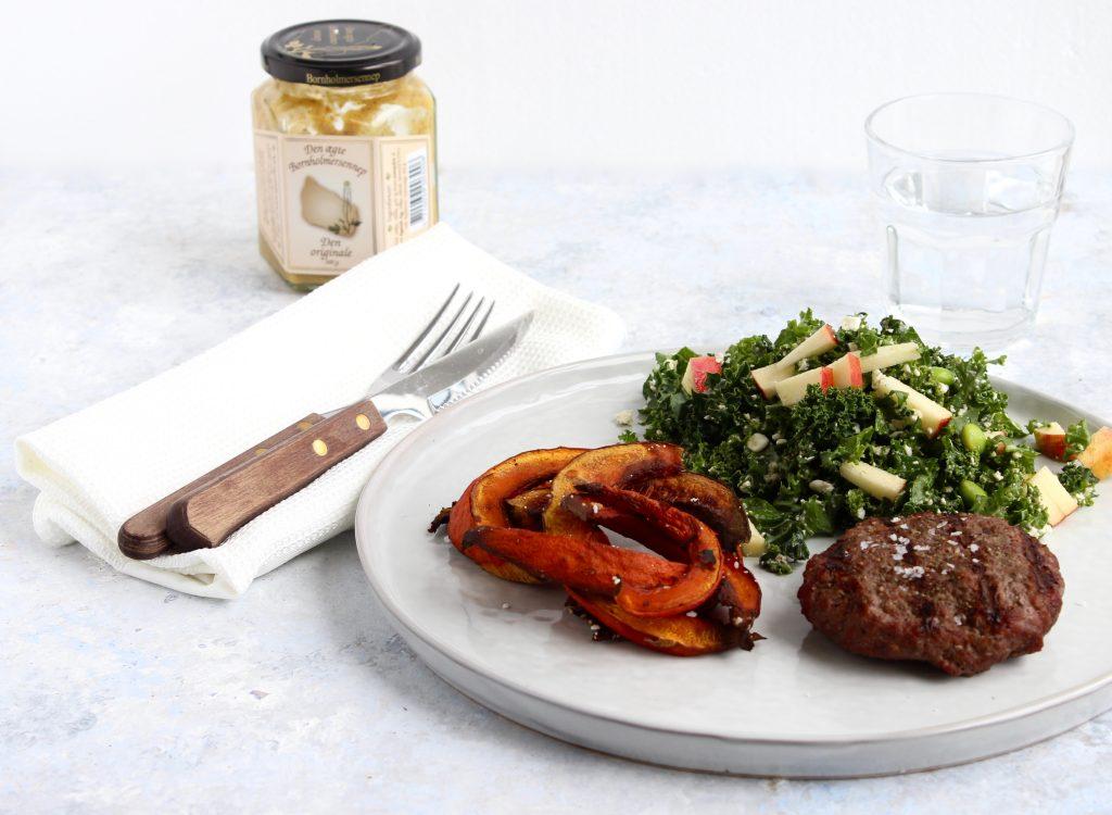Aftensmad med hakket oksekød