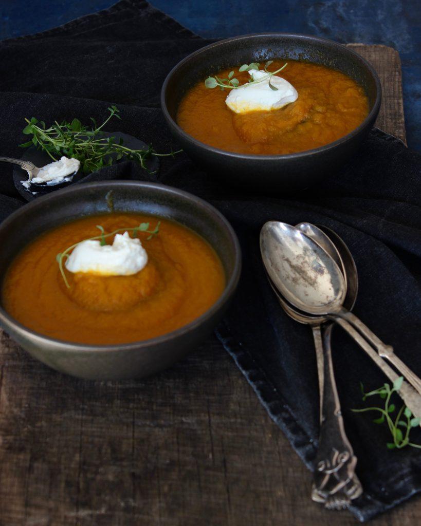 Gulerodssuppe opskrift