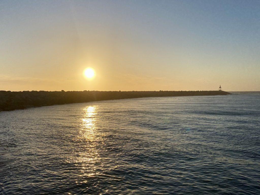 Solnedgang Hirtshals
