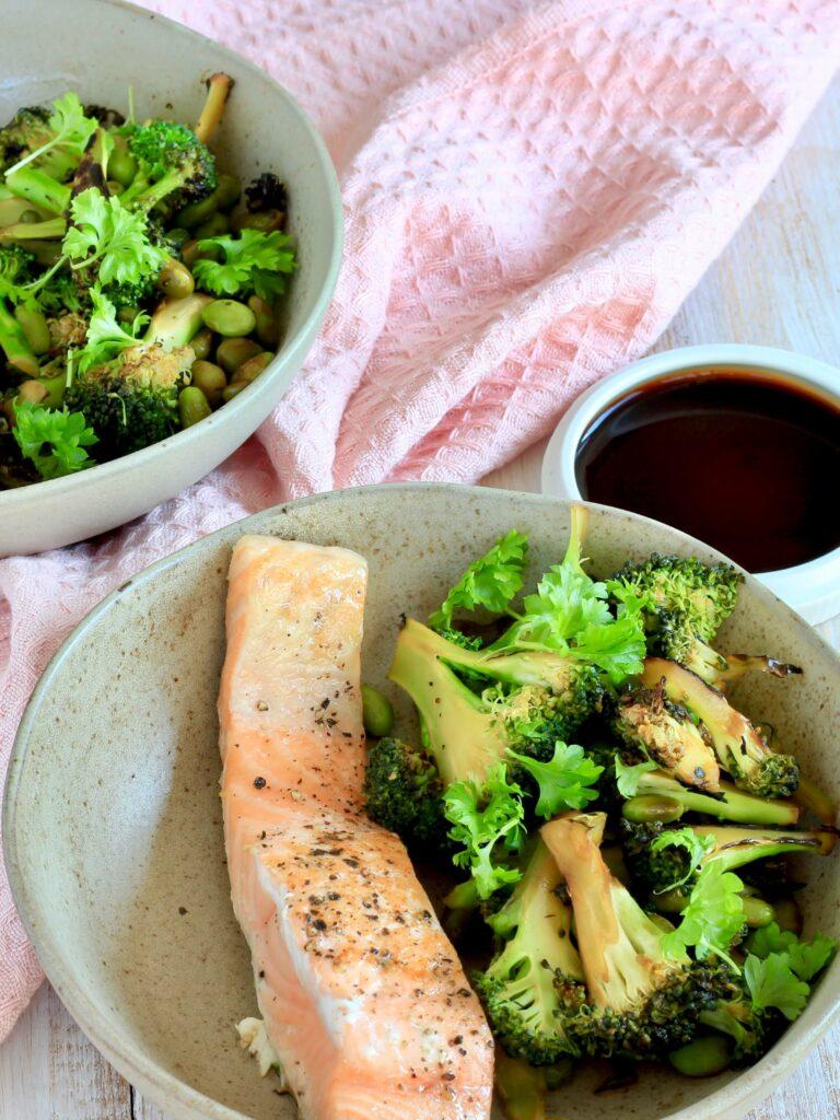 Broccoli med soja