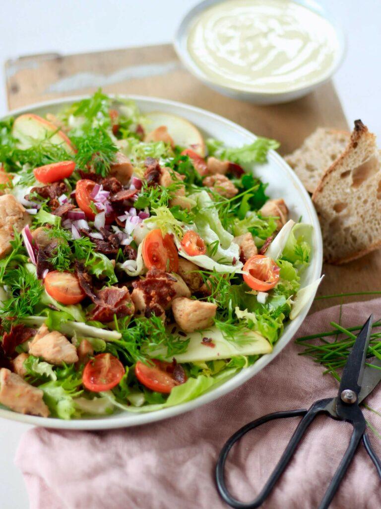 Salat til kylling