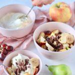 Råcreme til frugtsalat