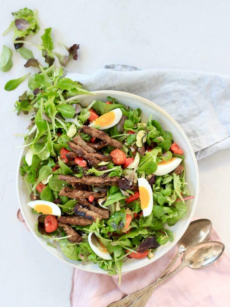 Salat_steak