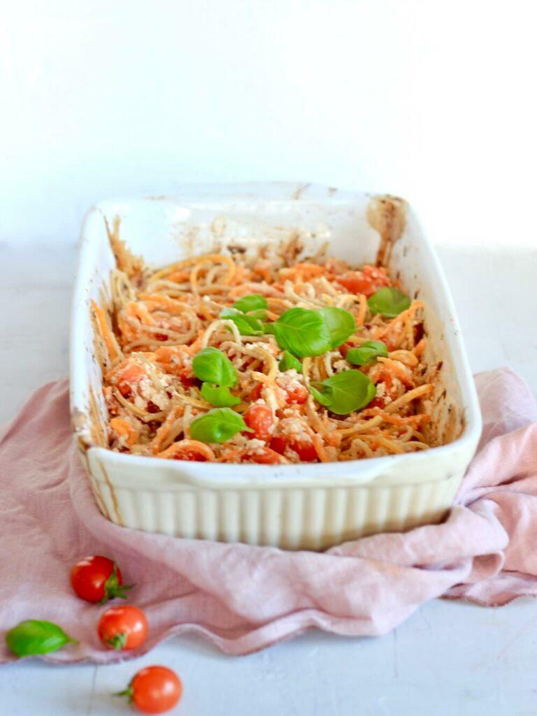 Spaghetti ricotta