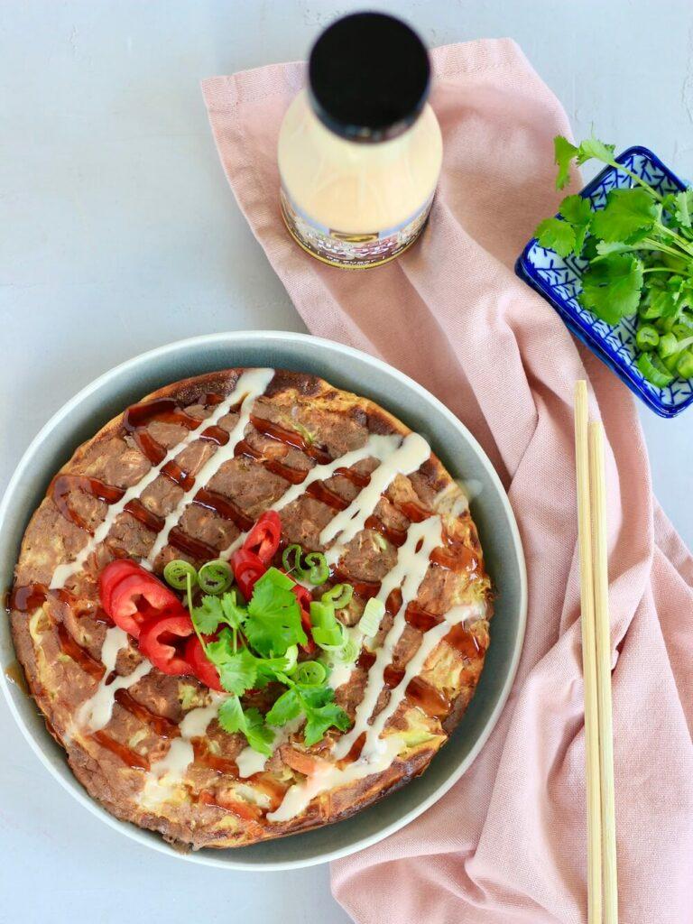 Okonomiyaki opskrift