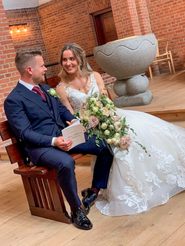 Bryllup Kirken
