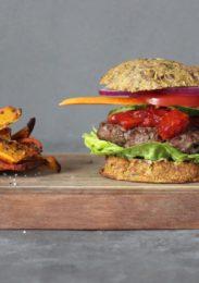 Måske verdens sundeste burger